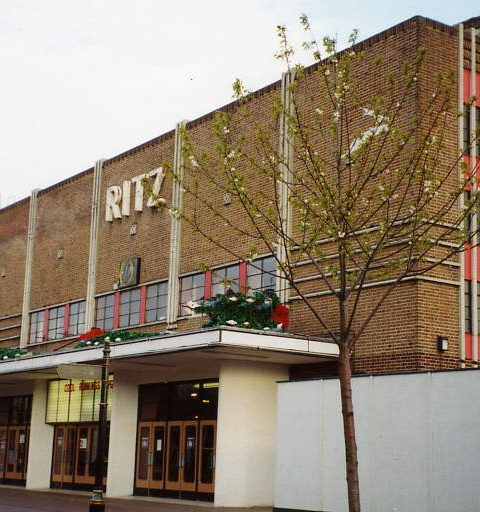 Hugh Beaver Ritz Cinema Gosport Hanjts