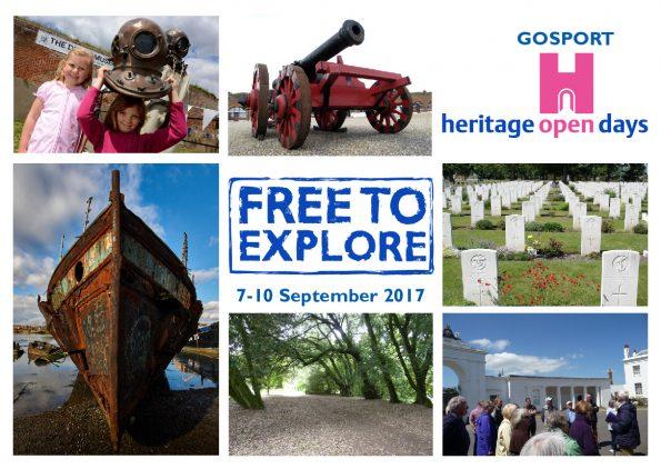 September Events Gosport heritage Open Days
