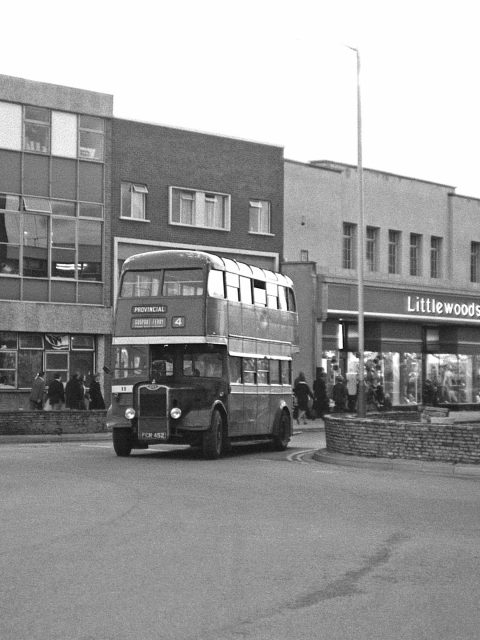 Gosport & Fareham 11 FCR 452 Bus 1969 High Street Gosport Hants by Roger Cox