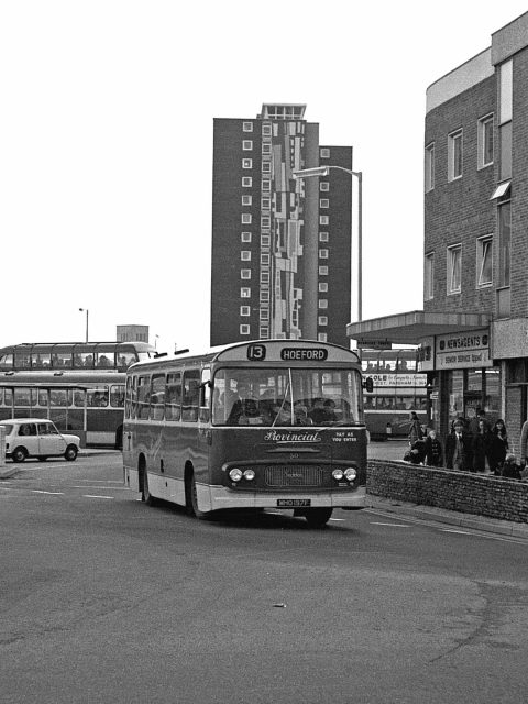 Gosport & Fareham 50 MHO 197F Bus 1969 South Street Gosport Hants by Roger Cox