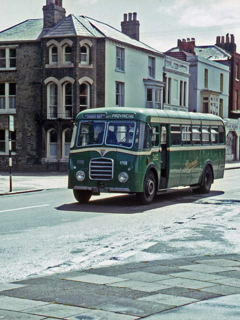 Gosport & Fareham 27 GC 9612 Bus 1967 Stoke Road/ Walpole Road Gosport Hants by Roger Cox