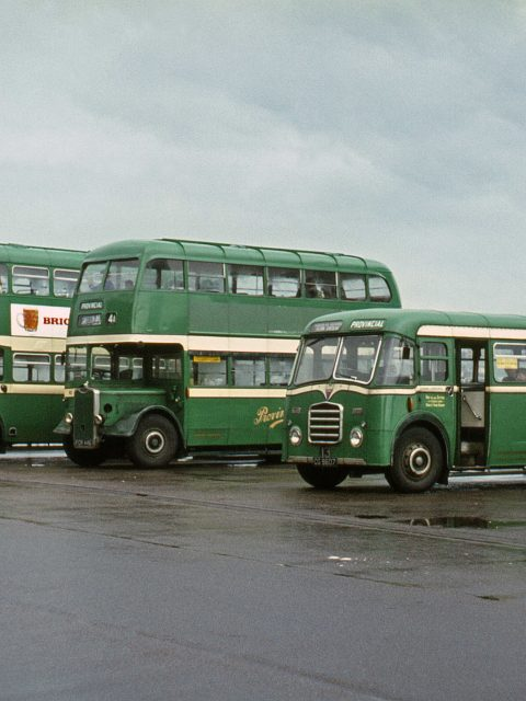 Gosport & Fareham Buses 1967 Gosport Bus Station by Roger Cox