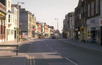 Mrmories High Street Gosport Hants 1988 by Ian Jeffery