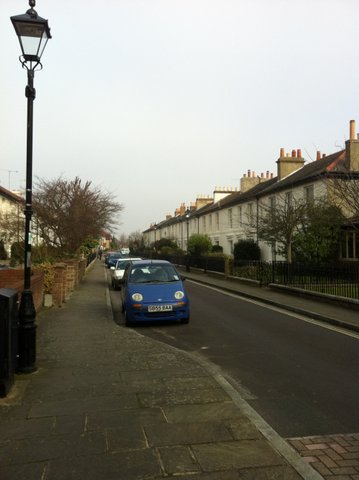 Peel Road from Stoke Road Gosport Hants- By Martin Chandler 2012