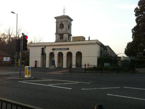 St Georges Frontage Mumby Road Gosport Hants- By Martin Chandler 2012