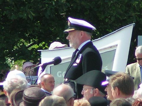 Cmdr Sykes of Institute of Naval Medicine Falklands Gardens Gosport Hants 3rd June 2007 By Adrian Newton