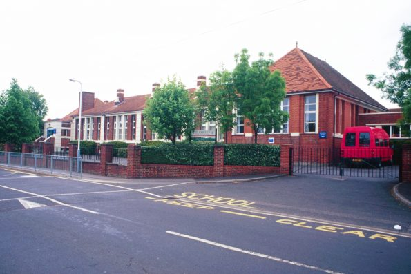 St Johns Primary School Grove Rd June 2001 by Ian R Jeffery