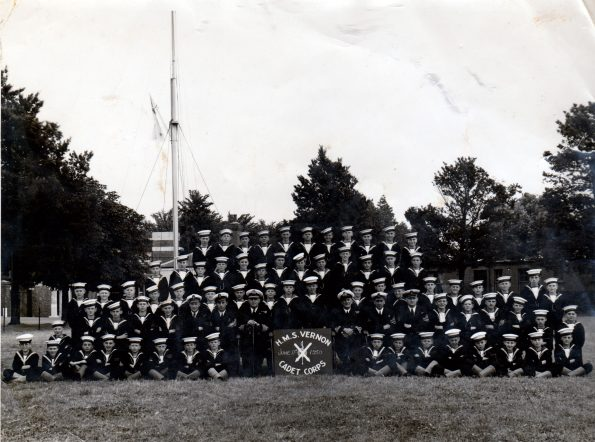 St Vincent Cadets 1950 Gosport Hants by Peter Maw